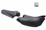 Comfort seat SHH0N720CH heated black/grey, grey seams