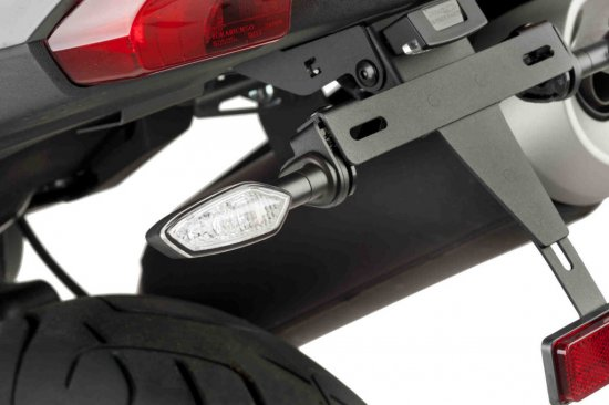 Support for original turn signal 3585N , juodos spalvos