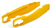 Swingarm protectors PERFORMANCE yellow RM 05